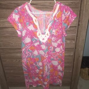 Gorgeous lily Pulitzer tee shirt dress
